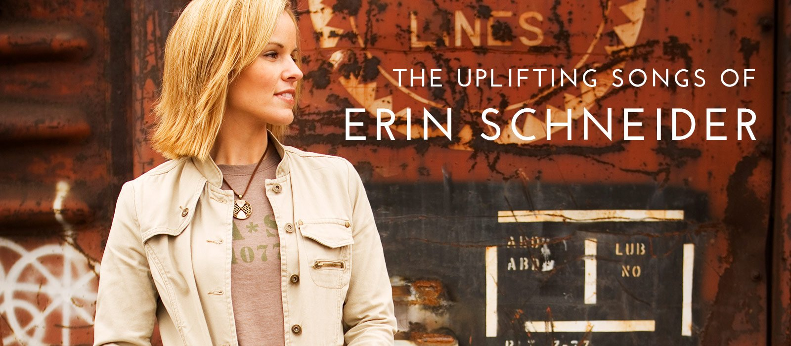 The uplifting songs of Erin Schneider