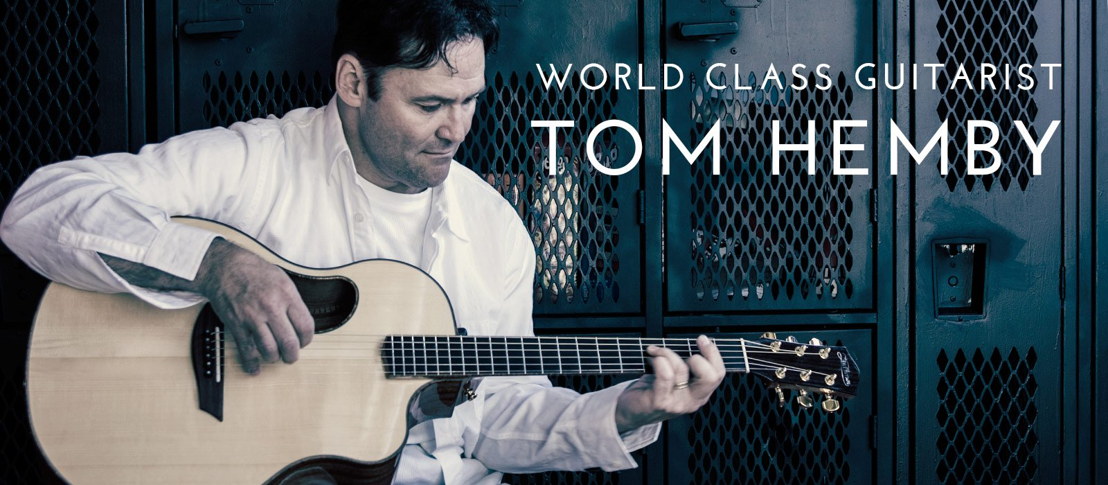 World Class Guitarist Tom Hemby
