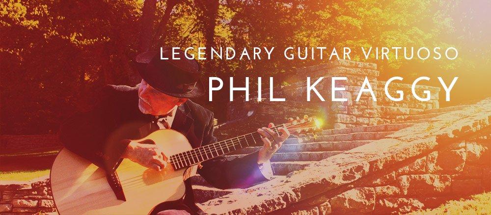 Legendary Guitar Virtuoso Phil Keaggy